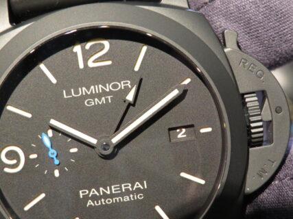 違いの分かる大人時計…。パネライ「ルミノール GMT チェラミカ」