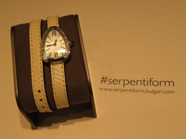 上品に仕上げた個性派時計…。ブルガリ「セルペンティ」-BVLGARI 鹿児島店からのお知らせ フェア・イベント情報 -IMG_1357-600x450
