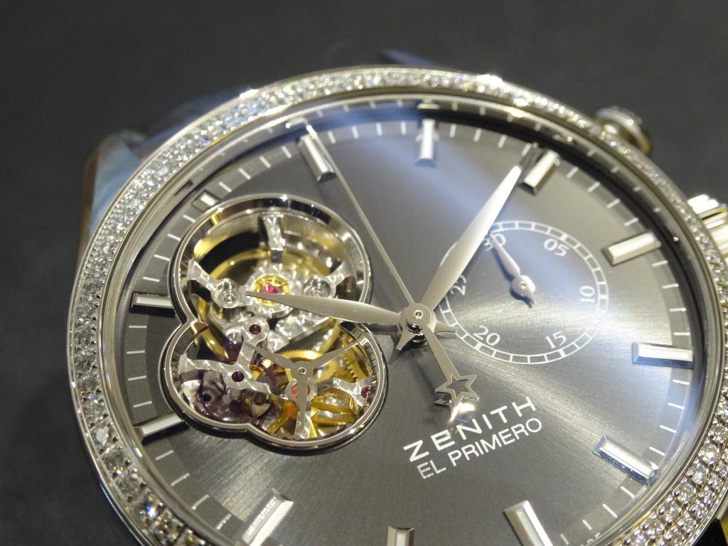 【ZENITH/ベゼルにダイヤモンドをセッティングしたレディースモデル】-〉BASELWORLD ZENITH -20150923-22