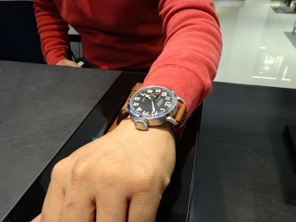 【ZENITH FAIR】インターネットで検索してZENITHの時計を見にご来店していただきました!