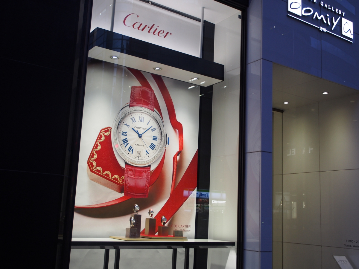 大好評!【CARTIER WATCH COLLECTION】 2015.12.1~12.27