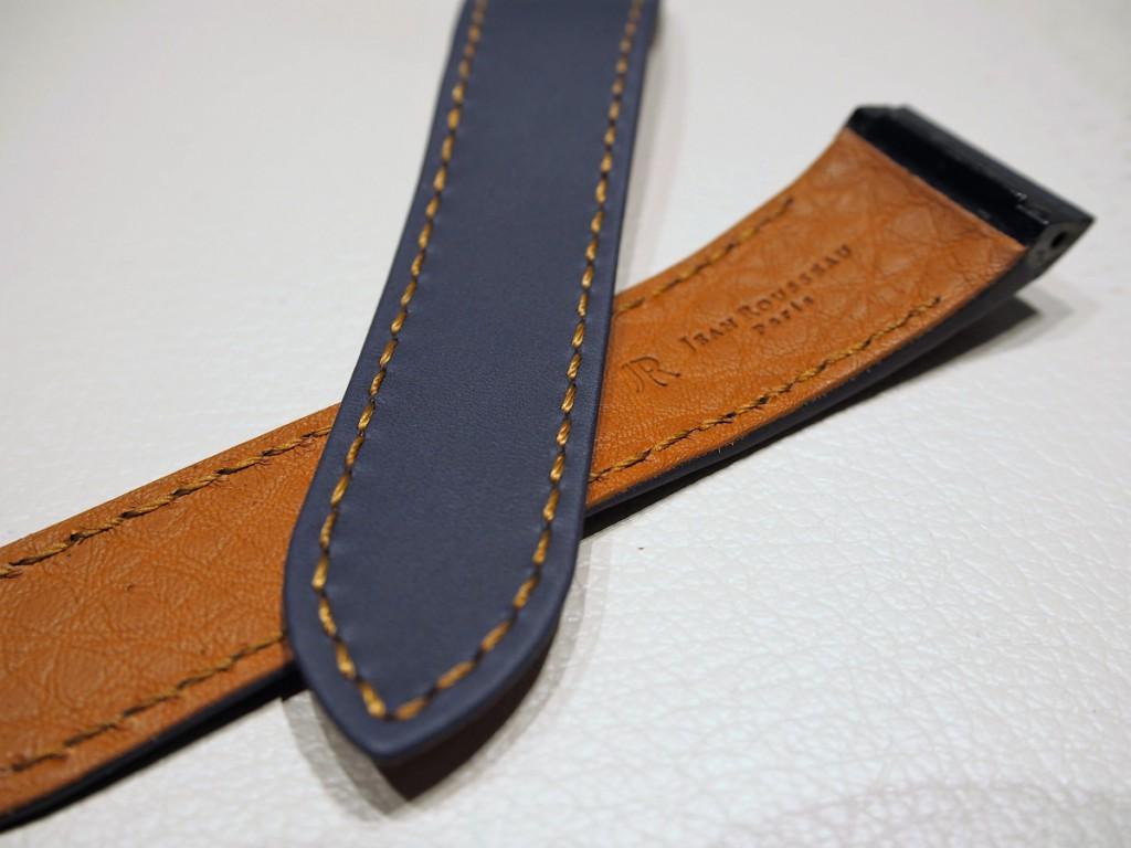 """Cartier用にオーダーいただいた""""Jean Rousseauのオリジナルストラップが出来上がりました!-カルティエ用 ジャン・ルソー オーダーストラップ oomiya京都店のお客様 -PC190527-1024x768"""