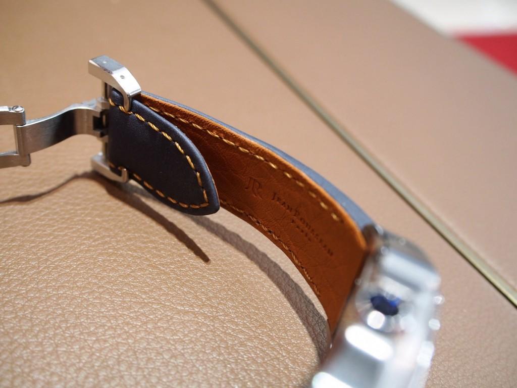 """Cartier用にオーダーいただいた""""Jean Rousseauのオリジナルストラップが出来上がりました!-カルティエ用 ジャン・ルソー オーダーストラップ oomiya京都店のお客様 -PC210546-1024x768"""