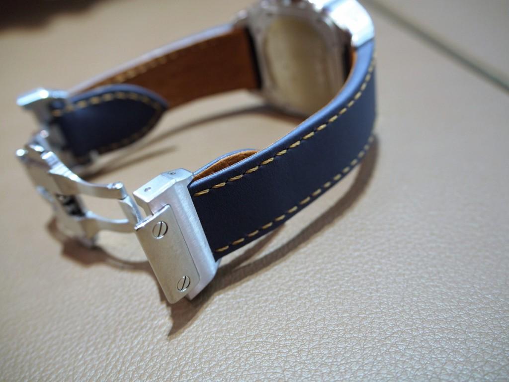 """Cartier用にオーダーいただいた""""Jean Rousseauのオリジナルストラップが出来上がりました!-カルティエ用 ジャン・ルソー オーダーストラップ oomiya京都店のお客様 -PC210548-1024x768"""