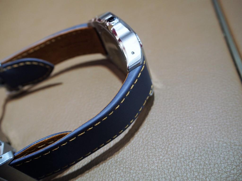 """Cartier用にオーダーいただいた""""Jean Rousseauのオリジナルストラップが出来上がりました!-カルティエ用 ジャン・ルソー オーダーストラップ oomiya京都店のお客様 -PC210551-1024x768"""