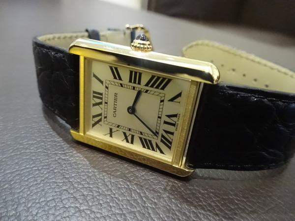 紳士な男性の定番時計・・・