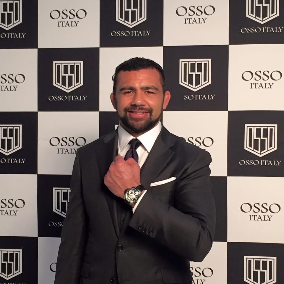 OSSO ITALYの新しいもう一人のブランドアンバサダー!