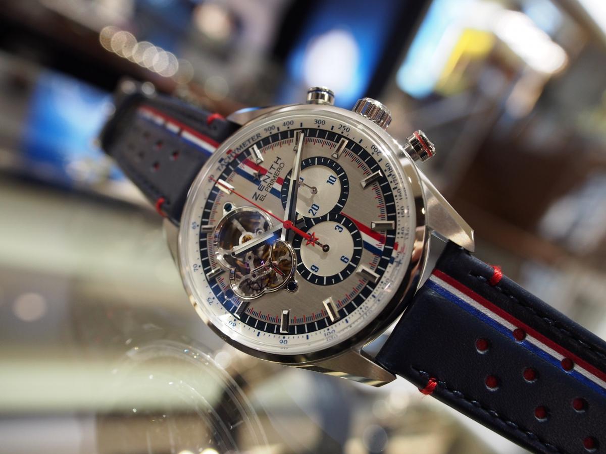 高級時計×トリコロールカラー!他にないスペシャルなデザインです!/ZENITH