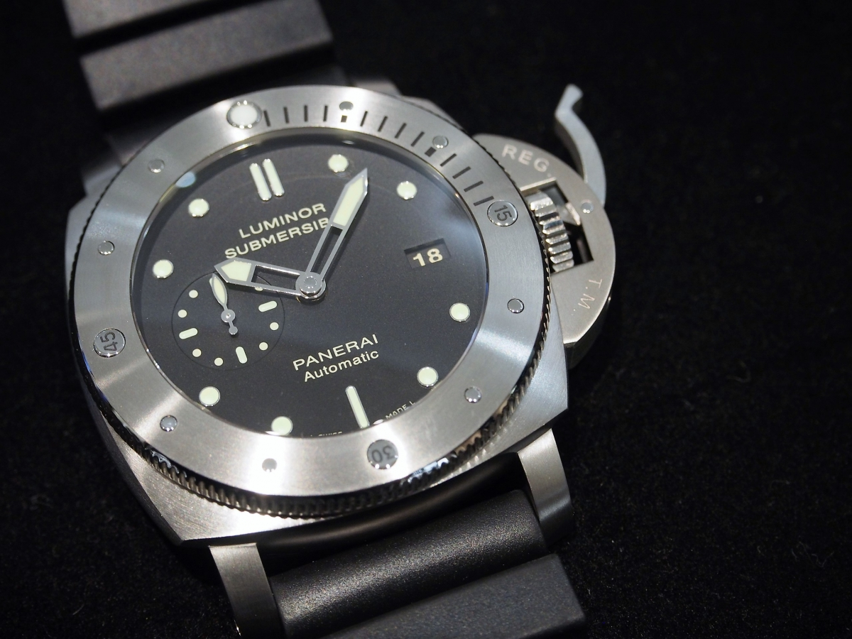 PANERAI / Luminor Submersible 1950 3 Days Automatic Titanio – 47mm 入荷しました。