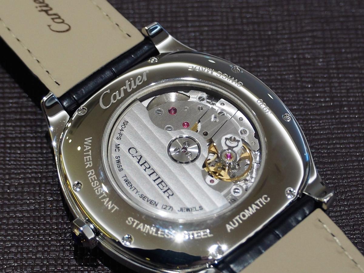 気品あるデザイン、装着感が魅力的「ドライブ ドゥ カルティエ」WSNM0009-Cartier -P4290024