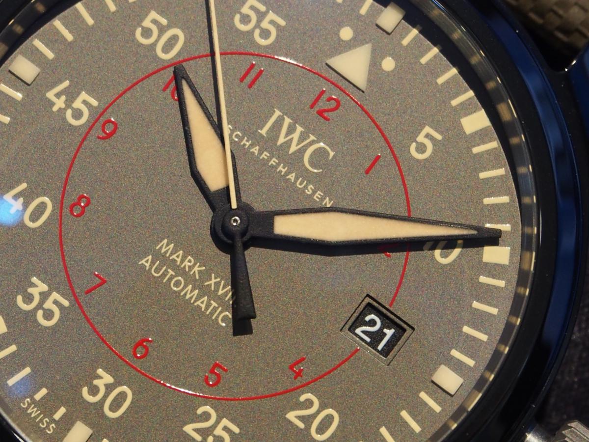 IWC セラミック製ケースのパイロットウォッチ再入荷!「マーク18 トップガン・ミラマー」IW324702