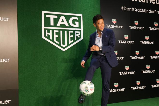 サッカー、香川真司選手が「タグ・ホイヤー」の新アンバサダーに就任!!