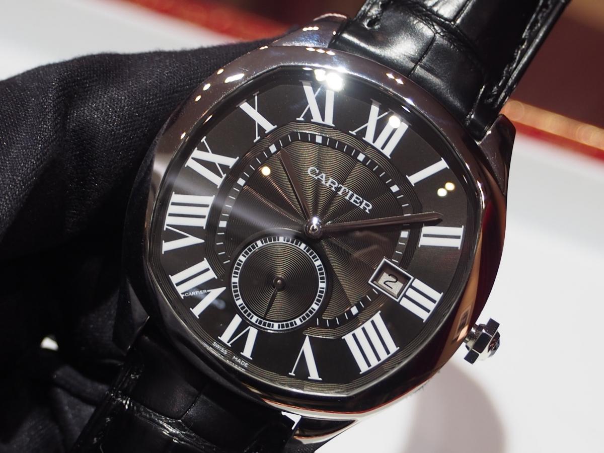 気品あるデザイン、装着感が魅力的「ドライブ ドゥ カルティエ」WSNM0009-Cartier -P8220075