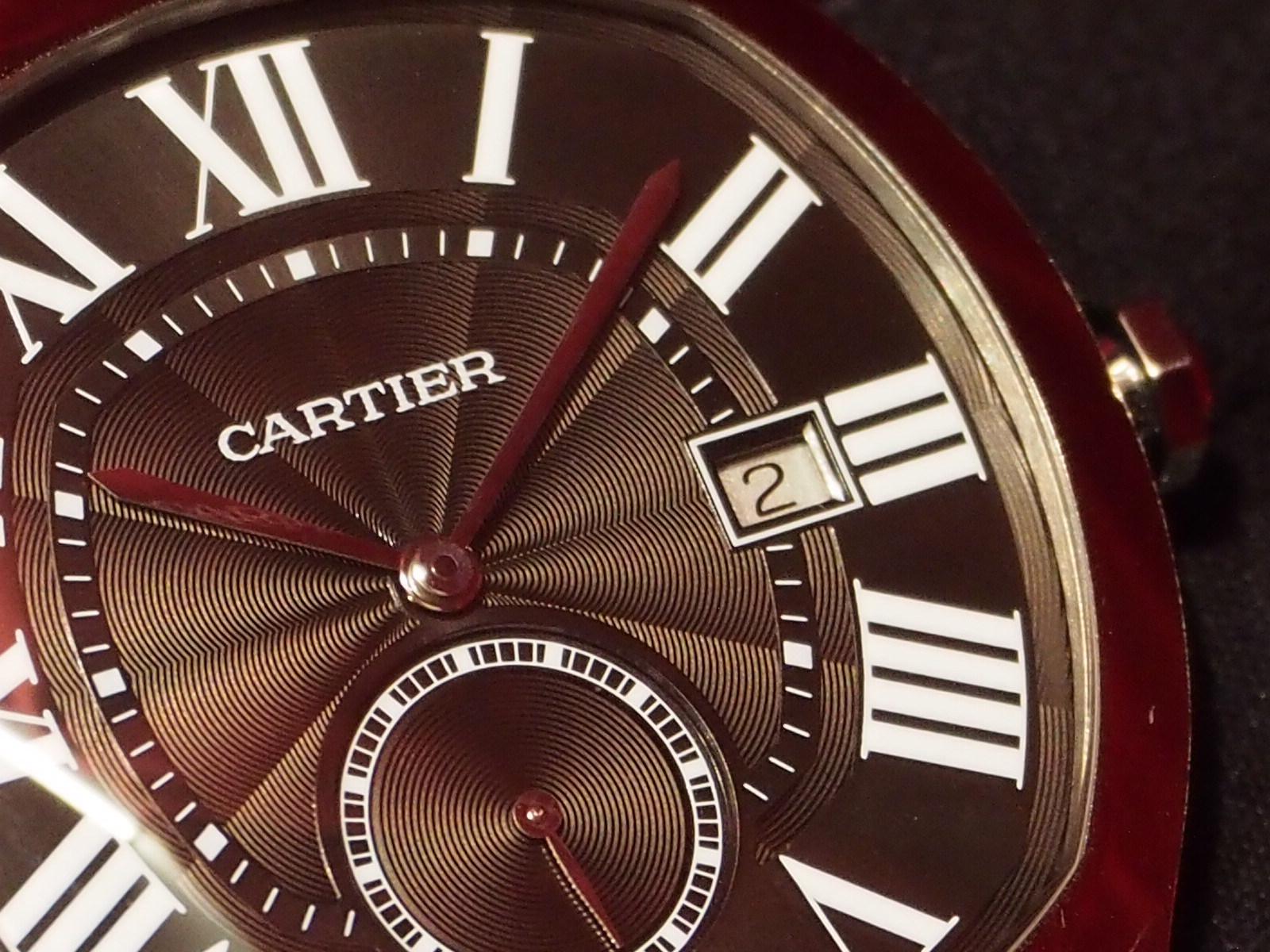 気品あるデザイン、装着感が魅力的「ドライブ ドゥ カルティエ」WSNM0009-Cartier -P8220093