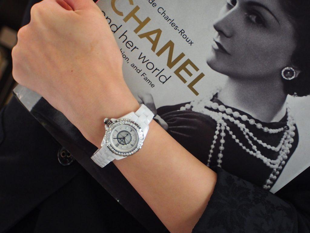 オオミヤ京都店にシャネルJ12ダイヤモンドモデル揃ってます!H2572-CHANEL -P8260012-1024x768