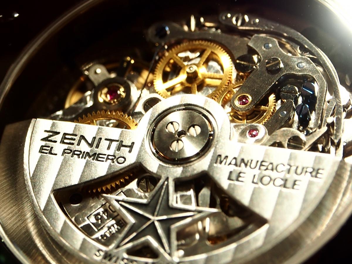 """【生産終了/ゼニス】非常に珍しい""""アラーム機能""""を搭載した「パイロット ダブルマティック」-ZENITH -P9230214"""