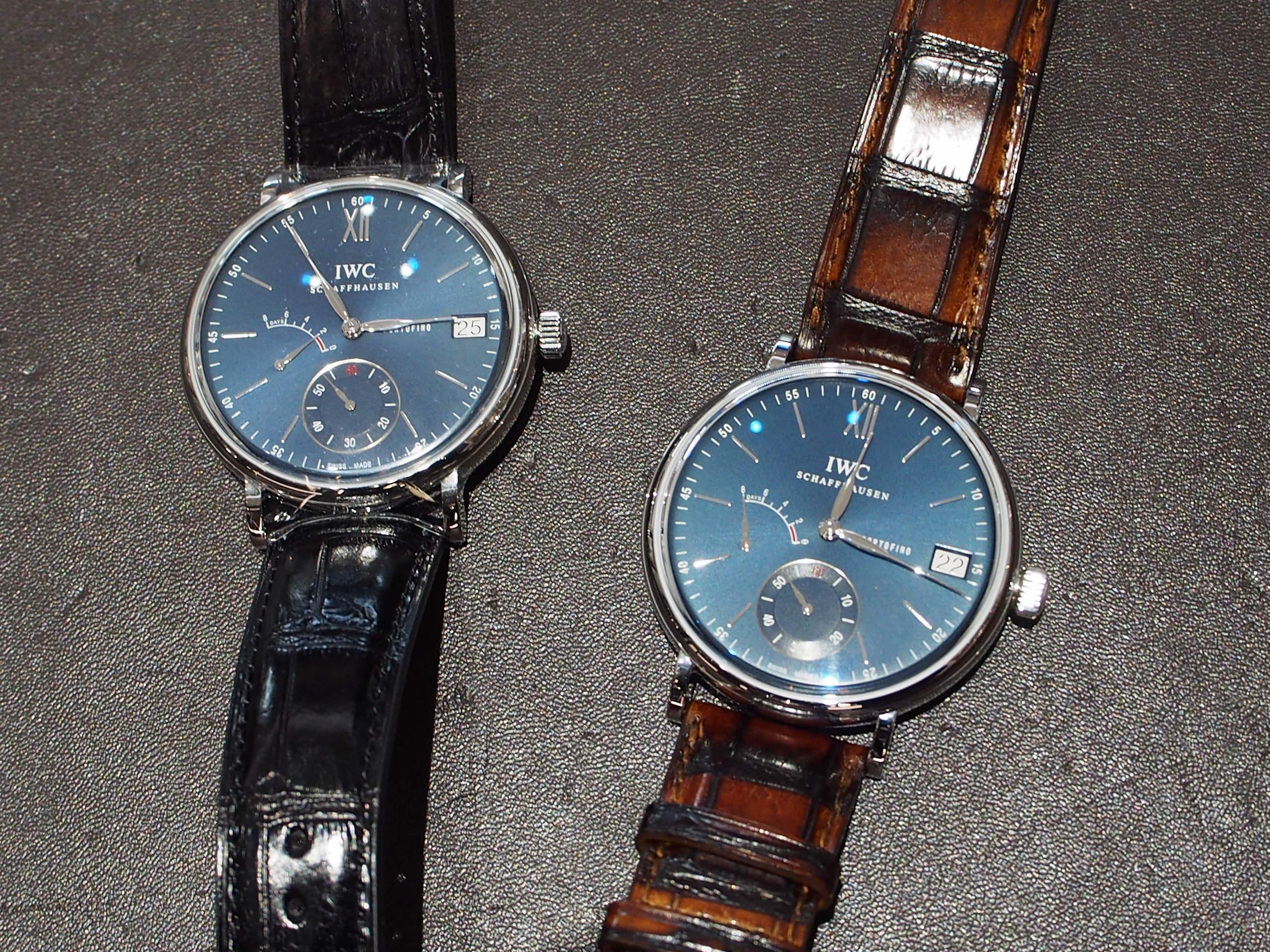 【IWC】こんな事もできる!~心から納得して高級時計をお手にとっていただけるように~