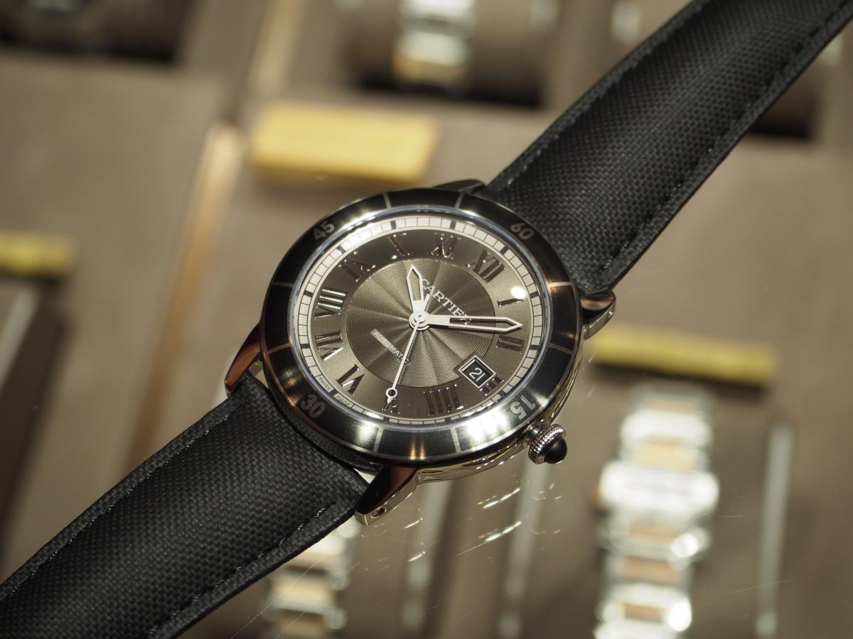 Cartier(カルティエ)らしくも遊び心のあるモデルです!/ロンド クロワジエール ドゥ カルティエ