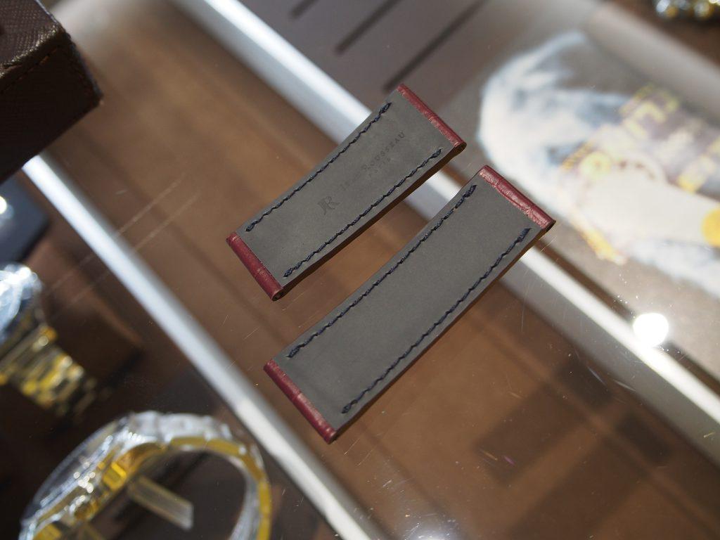 クロノマット 44 フライング・フィッシュをオーダーベルトでカスタム!-ブライトリング用 ジャン・ルソー オーダーストラップ oomiya京都店のお客様 -PB130009-1024x768