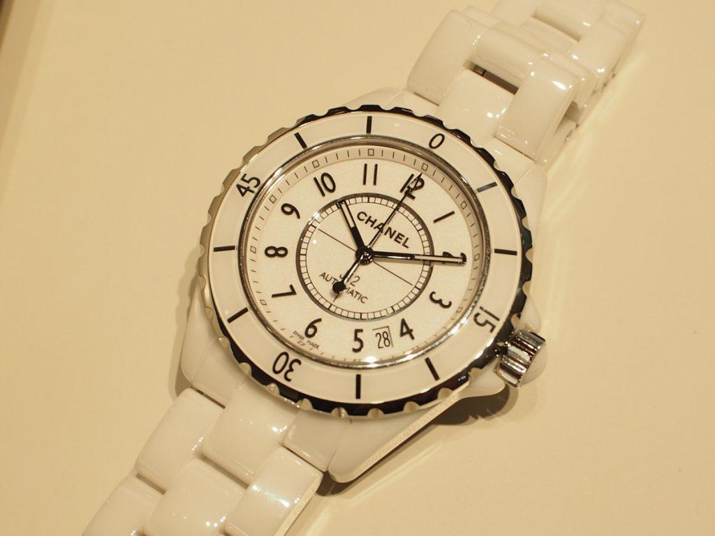 CHANELっていうだけでかわいい♪J12 ホワイト セラミック-CHANEL -P1080251-1024x768