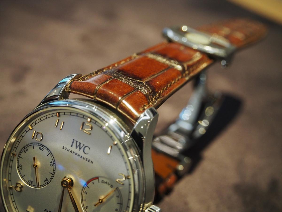 お客様がご愛用されているお時計(IWC ポルトギーゼ・オートマティック)のご紹介!