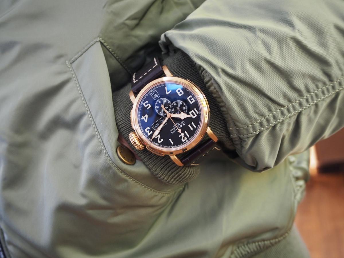 冬場の時計はこう着ける!肌寒くても腕元のオシャレはお忘れなく…