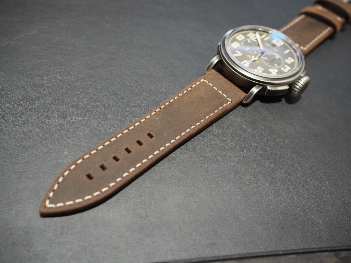 お客様のご愛用のお時計もご紹介! ゼニス パイロット TON-UP