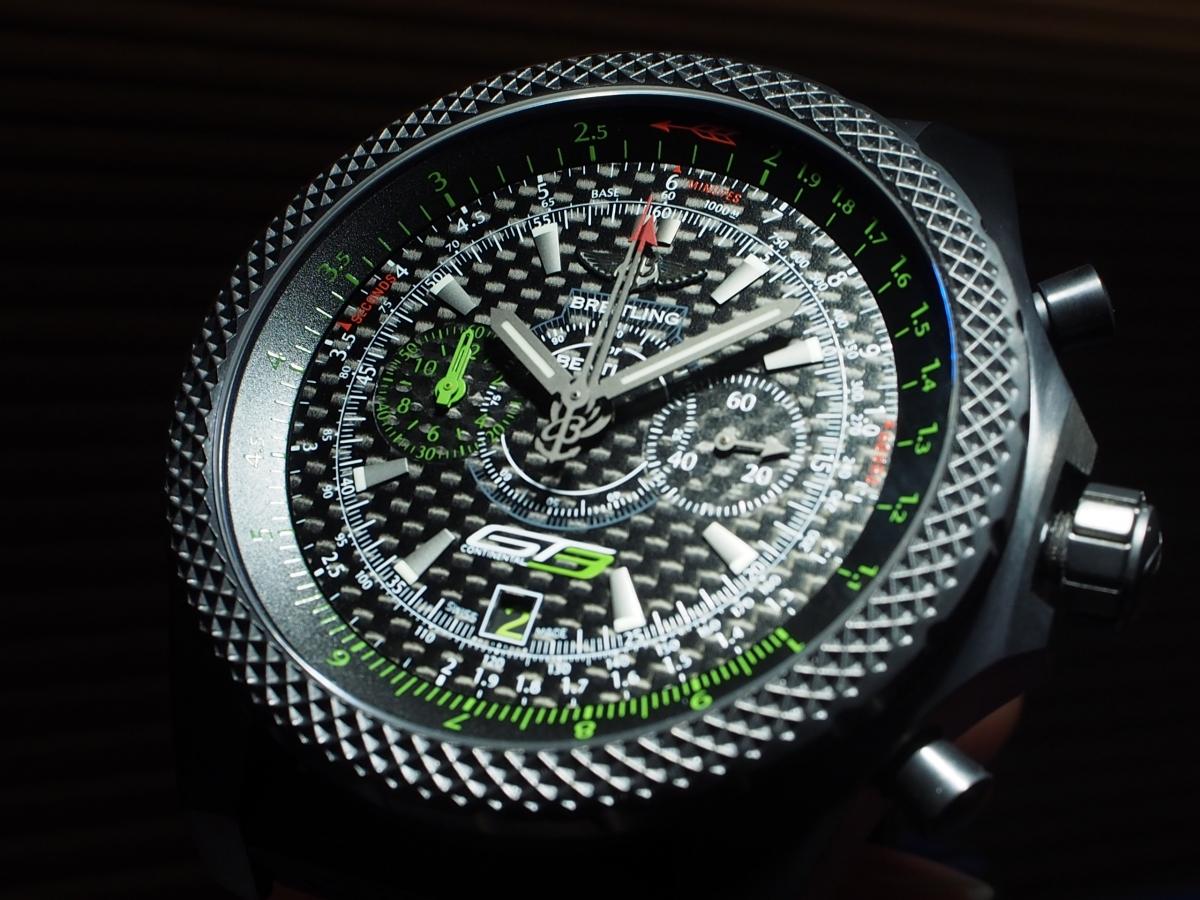 """ブライトリング 世界500本限定の""""ベントレー GT3""""だって店頭でご覧いただけちゃいます!"""