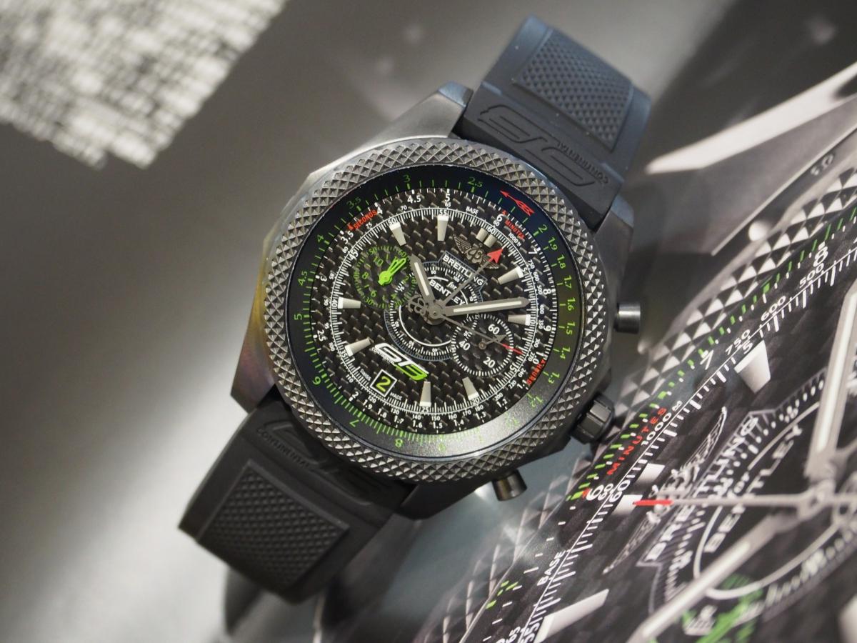 ブラックチタンの世界500本限定モデル/ブライトリング・フォー・ベントレーGT3