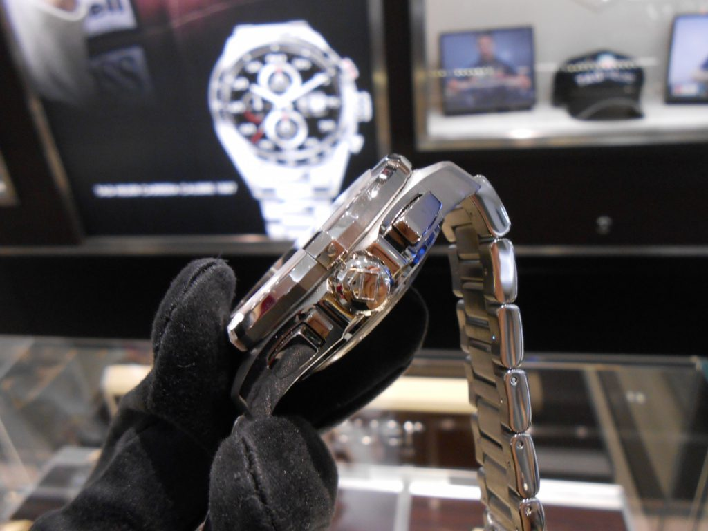 """【TAG Heuer NEW COLLECTION】300メートル防水を備える""""アクアレーサー クロノグラフ""""!-TAG Heuer -DSCN0258-1024x768"""