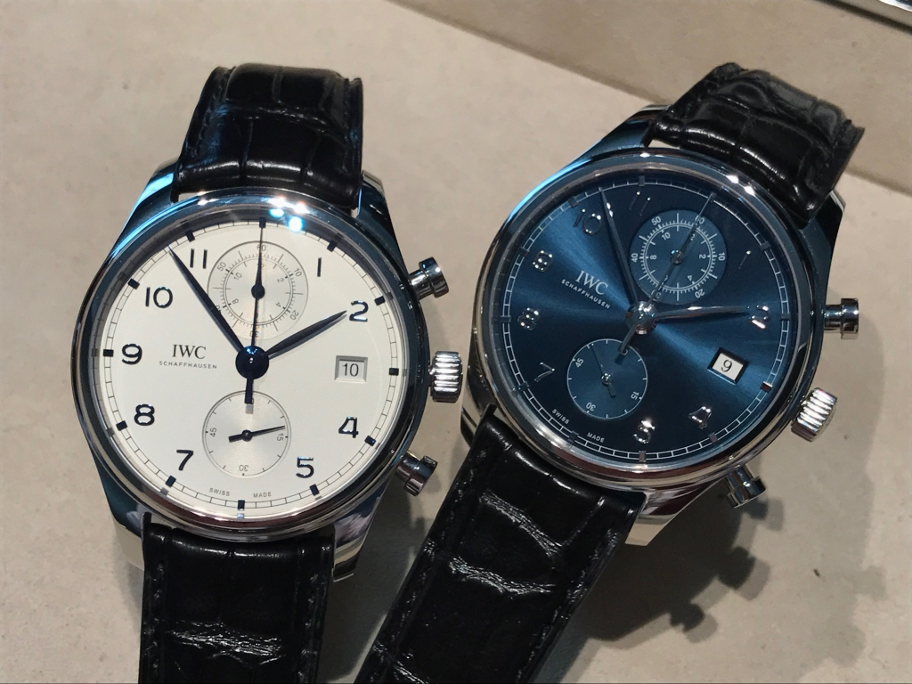 【IWC NEW COLLECTION FAIR】開催中!ポルトギーゼ・クロノグラフ・クラシック IW390303-〉SIHH IWC -IMG_8725