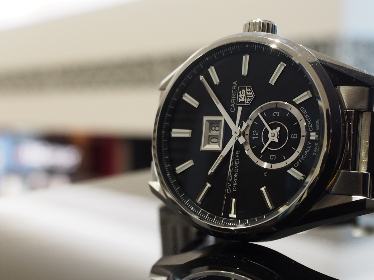【TAG Heuer NEW COLLECTION】大好評開催中!!2つのタイムゾーンを旅する カレラ グランドデイト GMT