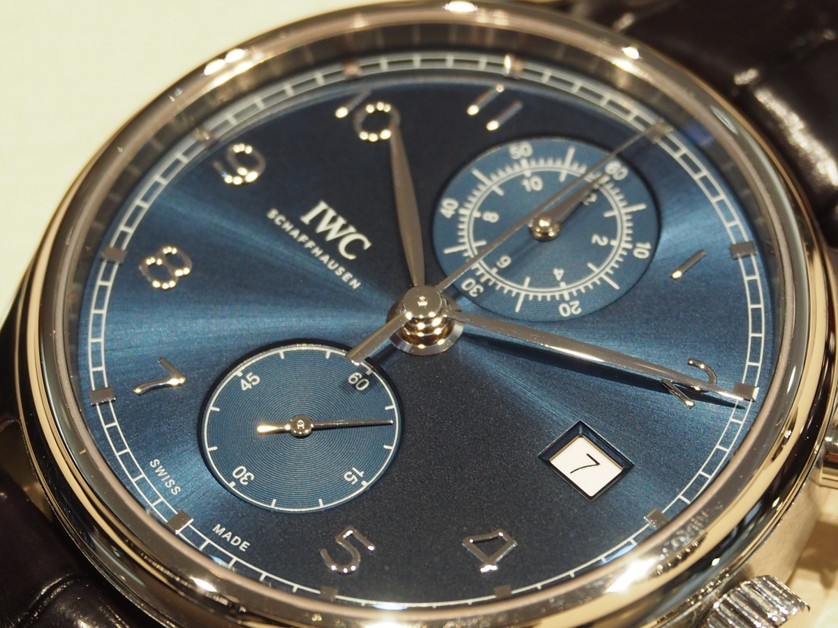 【IWC NEW COLLECTION FAIR】開催中!ポルトギーゼ・クロノグラフ・クラシック IW390303-〉SIHH IWC -P4281749