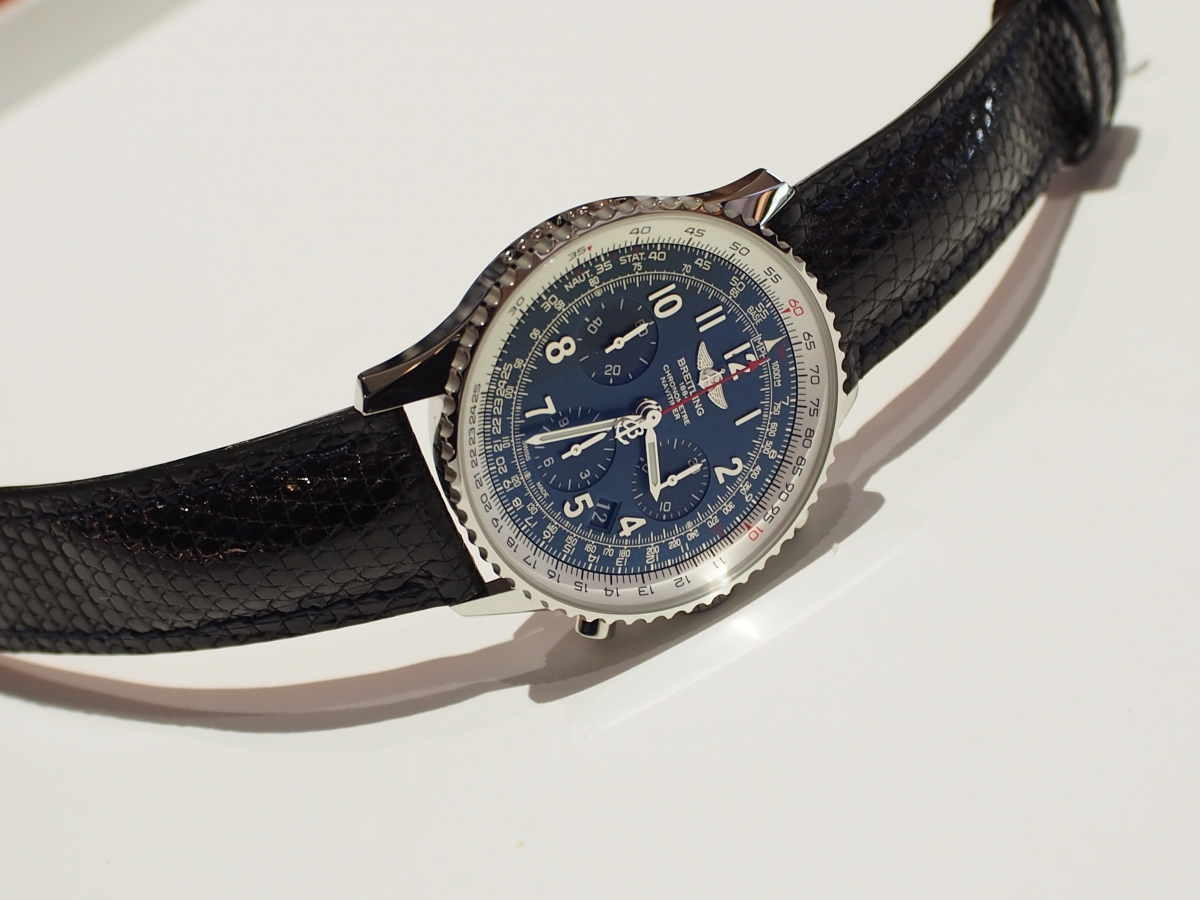 BREITLING×Jean Rousseau(ジャン・ルソー)世界限定1000本モデルのナビタイマーを変身!