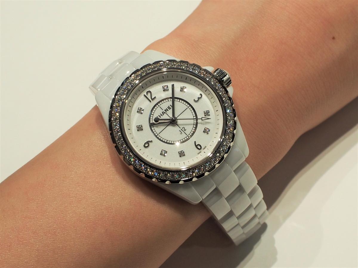 【CHANEL FAIR】終了間近!ホワイトのJ12ダイヤモンドモデル