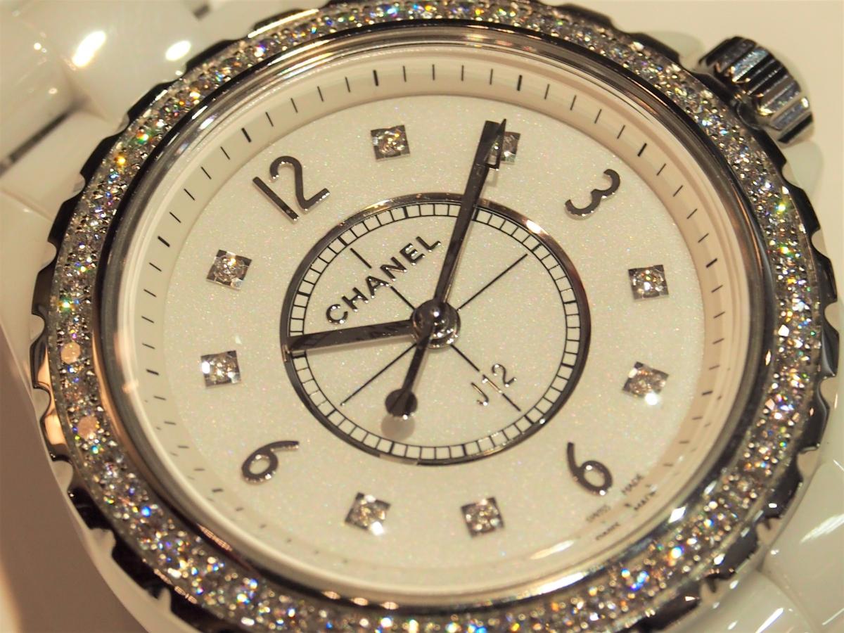 【CHANEL FAIR】終了間近!ホワイトのJ12ダイヤモンドモデル-CHANEL -P7140191-2