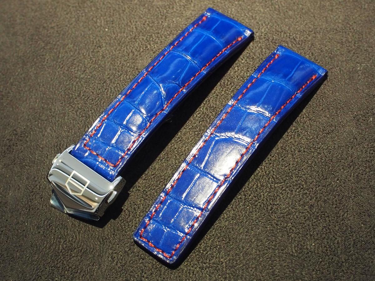 タグ・ホイヤー限定モデルをオーダーストラップでカスタマイズ!-タグ・ホイヤー用 ジャン・ルソー オーダーストラップ -P8180832
