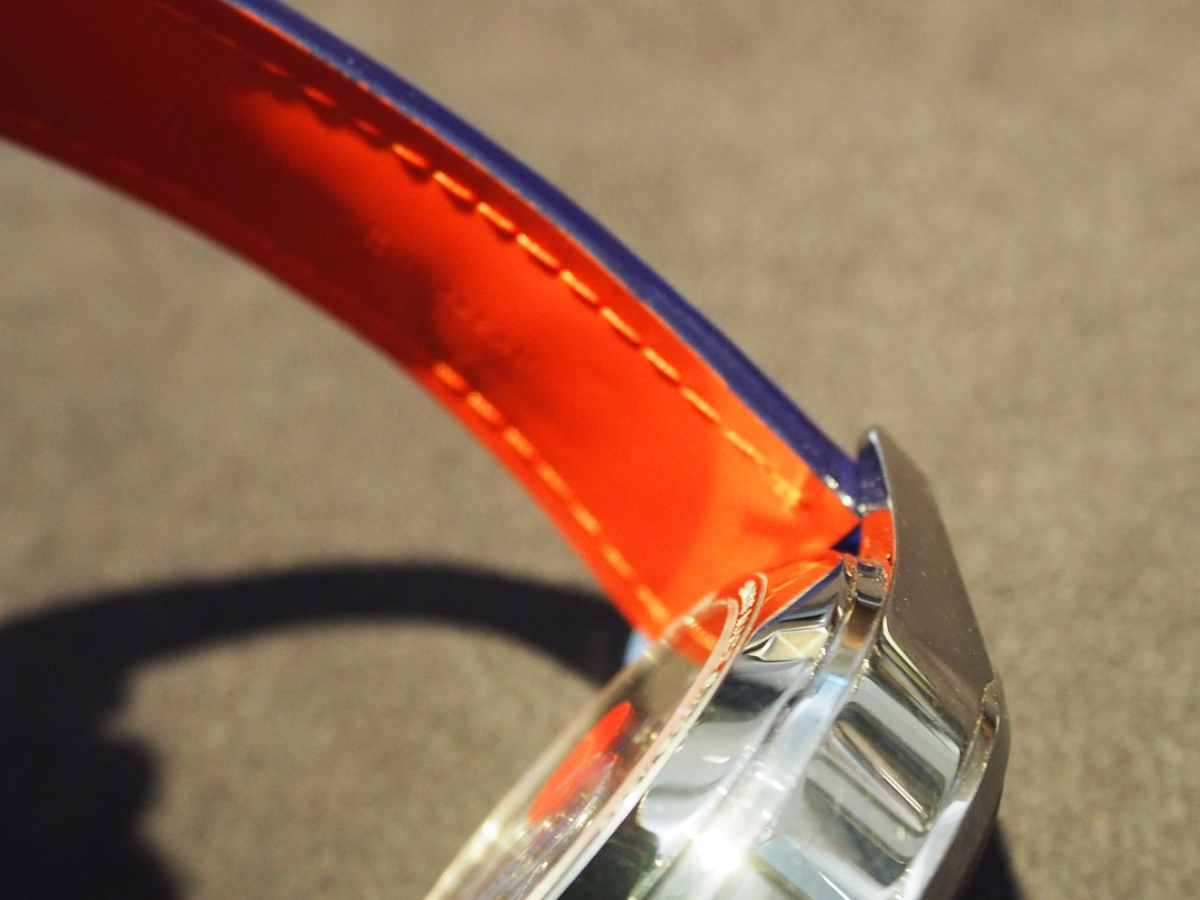 タグ・ホイヤー限定モデルをオーダーストラップでカスタマイズ!-タグ・ホイヤー用 ジャン・ルソー オーダーストラップ -P8180839