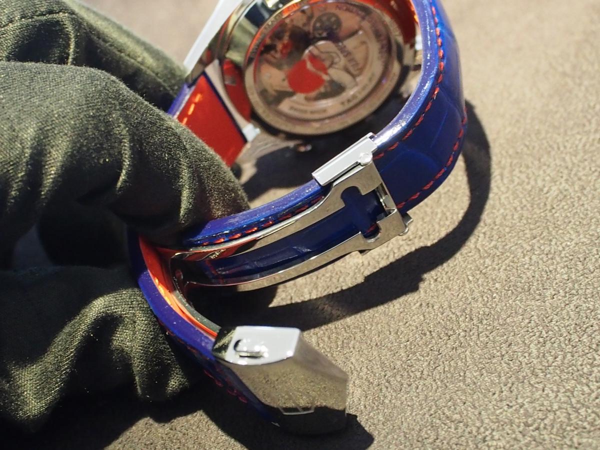 タグ・ホイヤー限定モデルをオーダーストラップでカスタマイズ!-タグ・ホイヤー用 ジャン・ルソー オーダーストラップ -P8180840