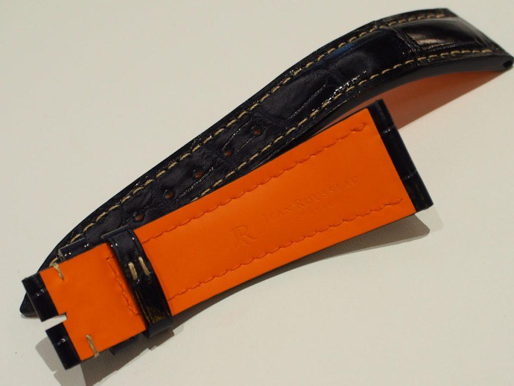ネイビーカラーで大人上品に~BREGUET×Jean Rousseau(ジャン・ルソー)~-その他ブランド用 ジャン・ルソー オーダーストラップ oomiya京都店のお客様 -PB110164-1024x768