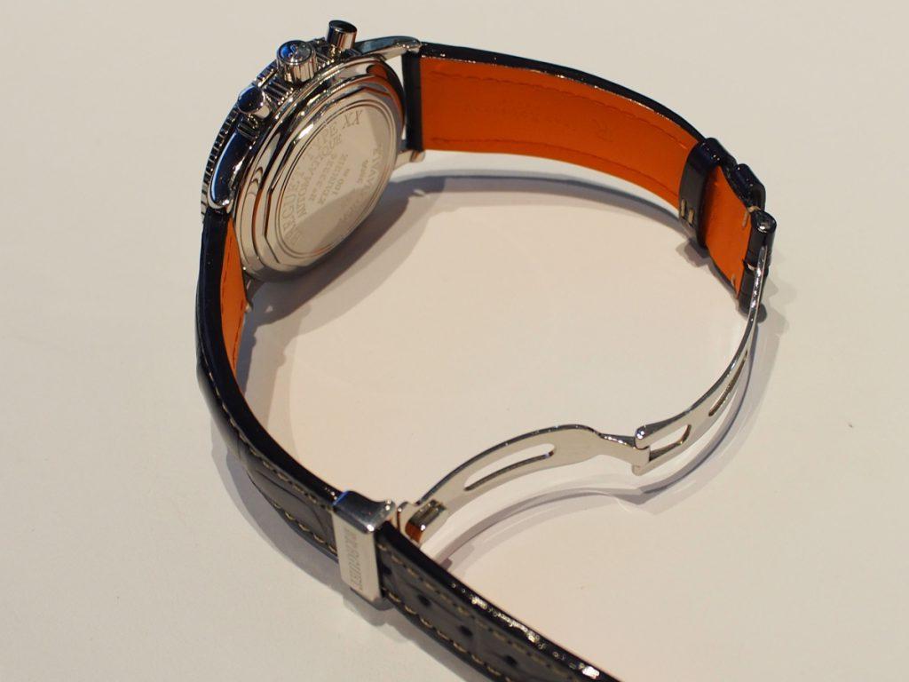 ネイビーカラーで大人上品に~BREGUET×Jean Rousseau(ジャン・ルソー)~-その他ブランド用 ジャン・ルソー オーダーストラップ oomiya京都店のお客様 -PB110169-1024x768