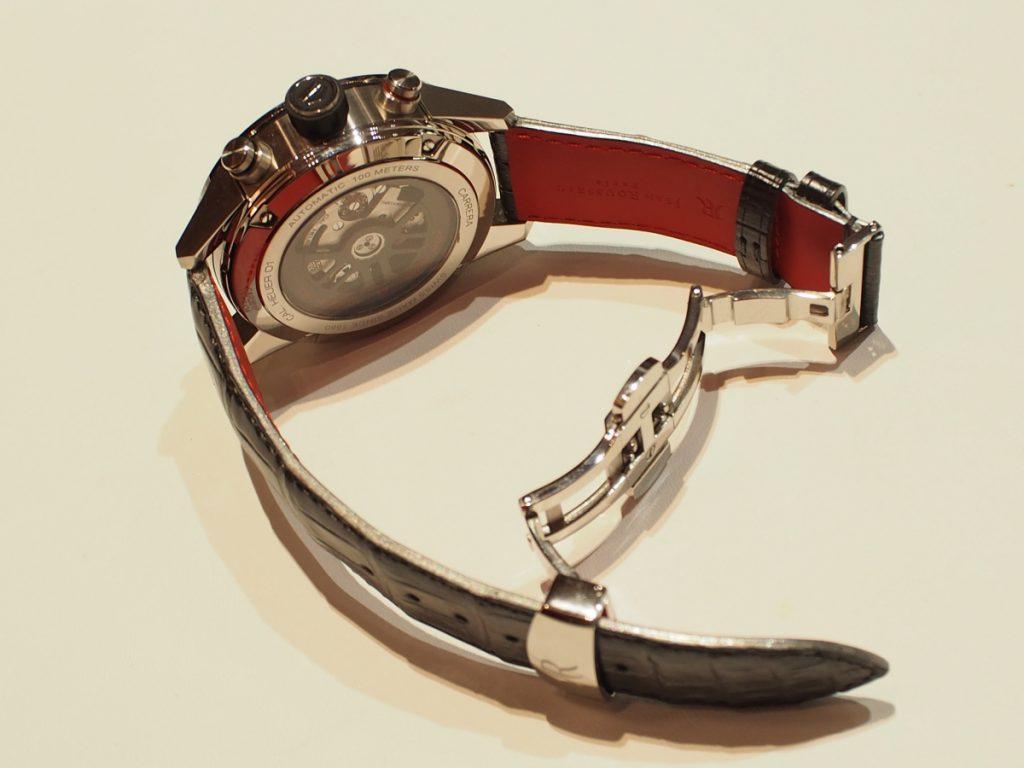 ブレスモデルに革をオーダーメイドで~TAGHeuer×Jean Rousseau(ジャン・ルソー)~-タグ・ホイヤー用 TAG Heuer ジャン・ルソー オーダーストラップ -PB170234-1024x768