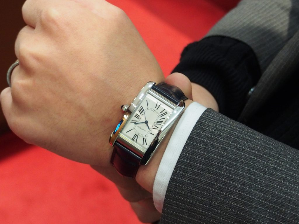 "best service 81522 99a0c CARTIER FAIR】新作!ステンレス素材の""タンク アメリカン ..."