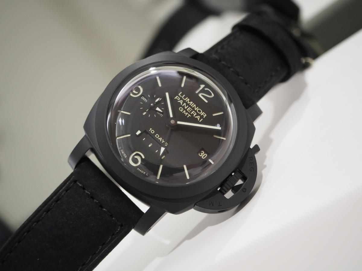 1ランク上のパネライ~ルミノール 1950 10デイズ GMT チェラミカ/PAM00335~