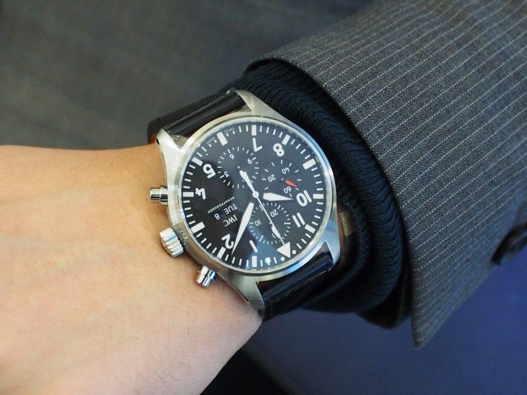 〇〇に似合う時計と理由は?! ~私たちが選んでみました~-CVSTOS IWC スタッフつぶやき -P1120813-1-1024x768