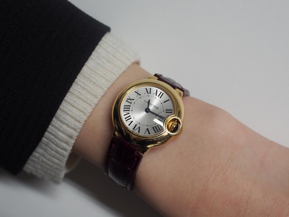 ~時計の絵、描けますか?~@Cartier(カルティエ)/バロンブルー