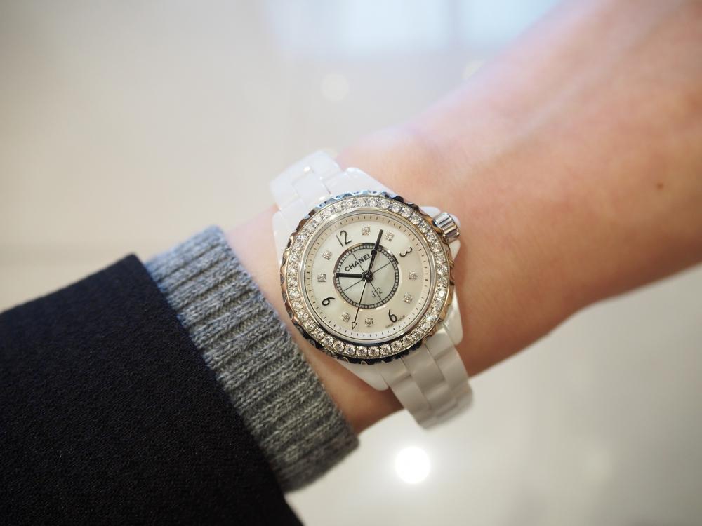 CHANELの虜♡ダイヤモンドモデルでワンランク上のお洒落を~シャネル/J12-H2572-