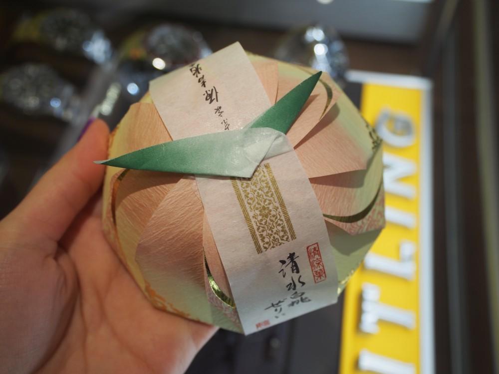 T様より、とっても美味しい『清水白桃ぜりぃ』いただきました♪-oomiya京都店のお客様 スタッフつぶやき -P4092165
