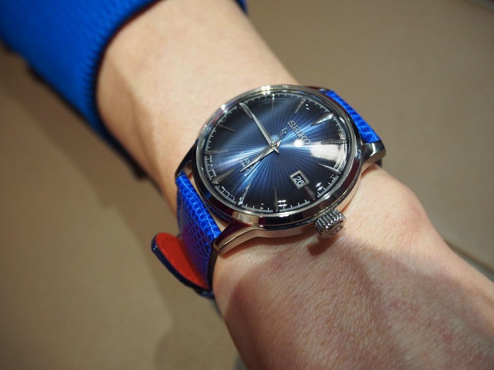 ジャン・ルソーで自分だけの革ベルトを作ってみませんか?!当店ご購入以外のお時計でもお作り頂けます☆