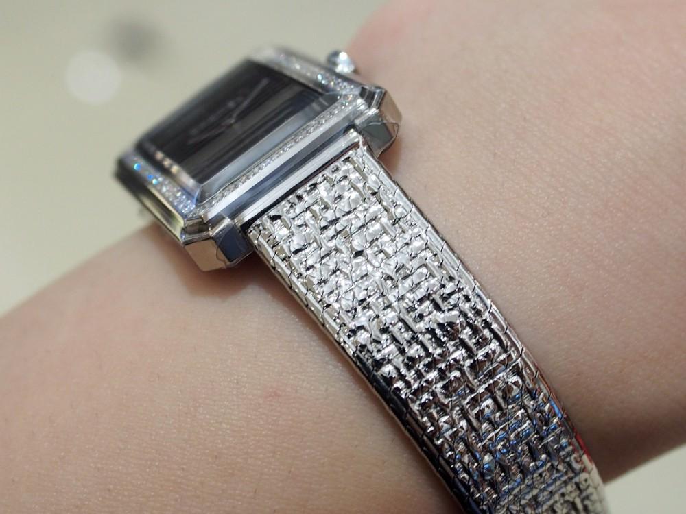 【CHANEL FAIR】大人時計でコーディネートを格上げ!シャネル ボーイフレンドツイード/H4877-CHANEL -P5072789